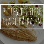 3 tips til at fange flere flade på kajen